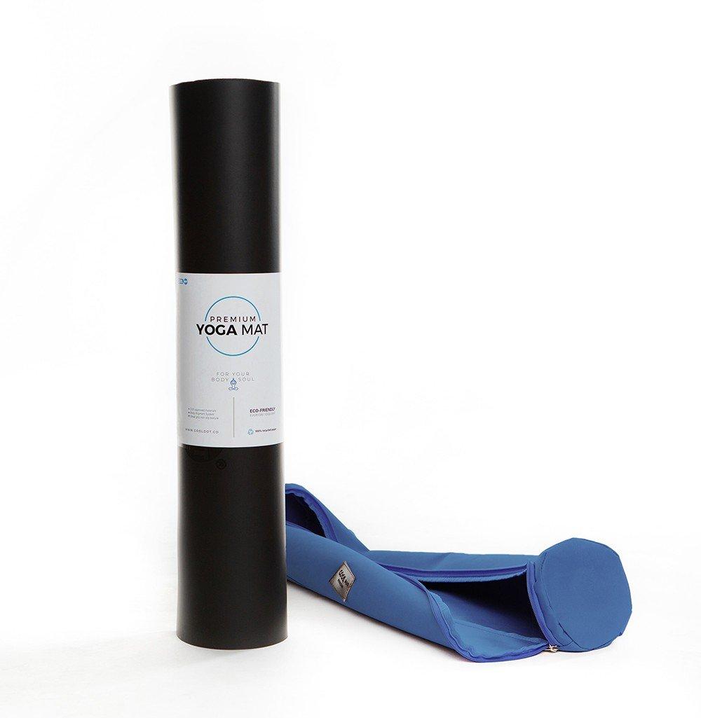 black yoga mat-bag
