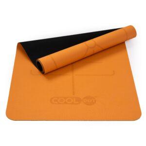 Lightweight Travel Yoga Mat – Orange