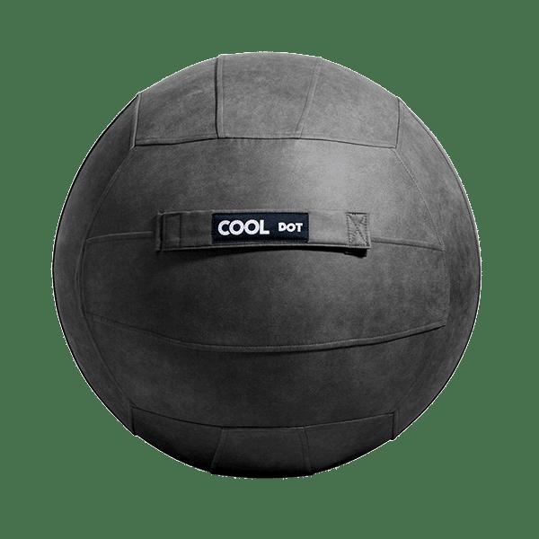 Antibacterial Sitting Ball Chair Yoga Ball - Grey 500x500-min